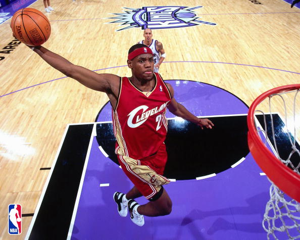 LeBron8217s NBA debut 8211 10292003 vs Sacramento