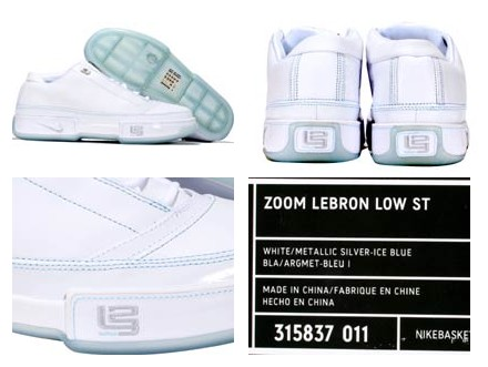 LeBron Low ST GR vs sample pictures