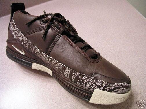 Nike Zoom LeBron II GSM brown PE