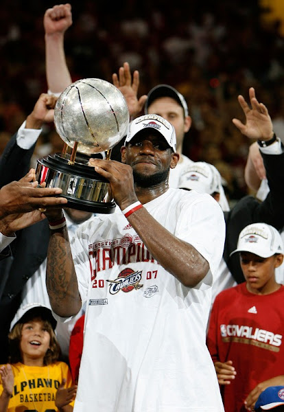 Welcome to the 2007 NBA FINALS 8211 Cleveland Cavaliers