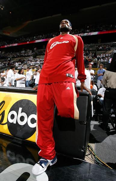 2007 NBA Finals photo recap Game One