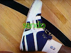 lbj soldier wht nav0 6 LeBrons 2007 Playoffs Sneakers   Zoom Soldier PEs