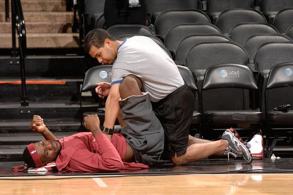 2007 NBA Finals photo recap practice on 689
