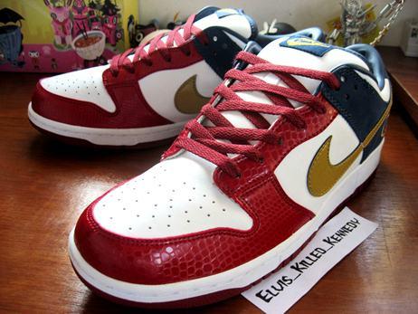 Nike Dunk Low LeBron Ohio PE