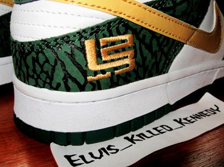 Nike Dunk Low LeBron SVSM PE