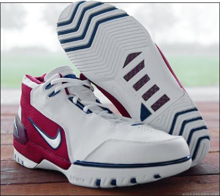 28c99c8c9a29 This shot provides a good look at the outsole of the Nike Air Zoom  Generation. The shoe employs a slight variation on the tried-and-true  zig-zag herringbone ...