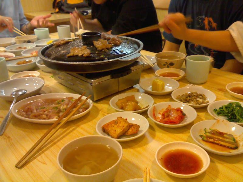 燒烤前韓式前菜