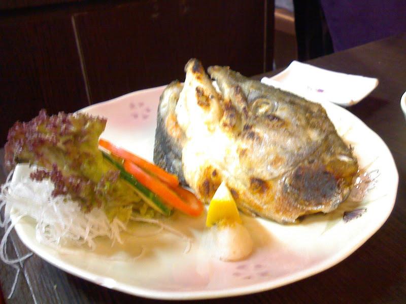鹽燒三文魚頭