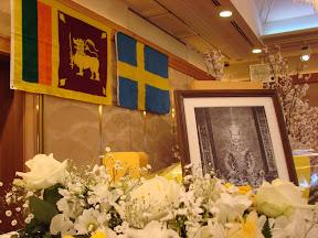 Portrait of King of Siam, World Tipitaka Patron at the Tipitaka celebration ceremony, Osaka, 2007.