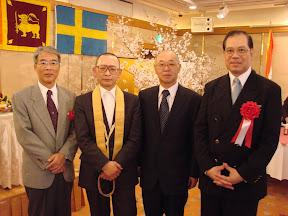 Dhamma Society with scholars from Japan and Sri Lanka, Osaka, 2007.
