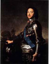 Російський імператор Петр І