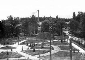 Парк біля капсюльного заводу кінець XIX ст.