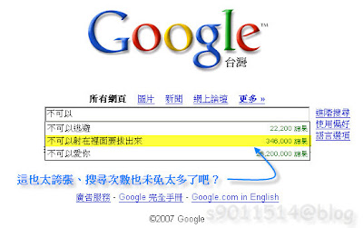 Google搜尋超爆笑之Google V.S. 杜正勝