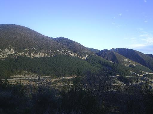 Arguis - Vista del Pico del Aguilauis