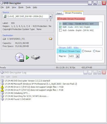 PSP - Copy / Convert DVDs to PSP