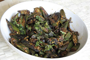 Spicy Okra