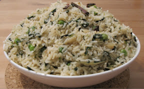 Palak Fried Rice