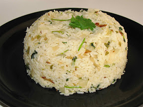 Cilanthro Lemon Rice