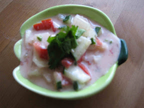 vegetable Raitha