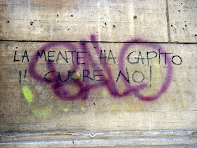 Urban Love on the streets of Rome - La mente ha capito il cuore no