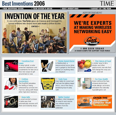 Best Inventions of 2006