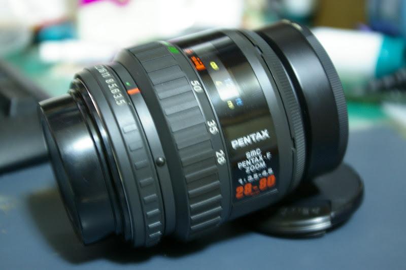 PENTAX F 28-85 F3.5-4.5 入手&測試解毒照..請大家批評一下..