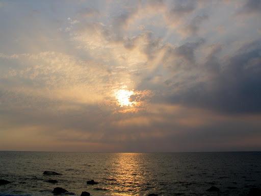 很漂亮的夕陽
