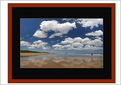 Example os my Wandering ionto the Vastness Framed as avialable on RedBubble