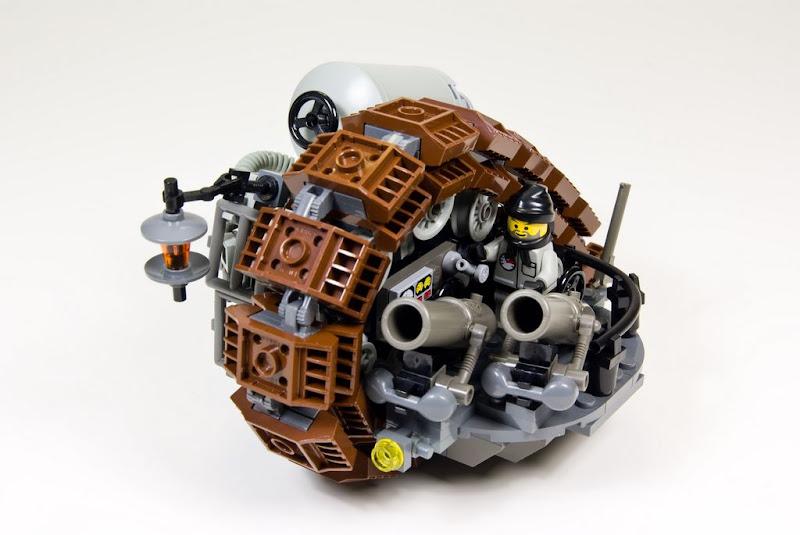Lego Steampunk - Char