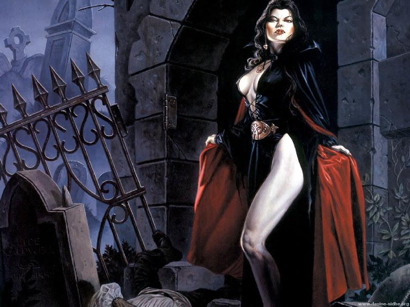 Clyde Caldwell - La vampiresse