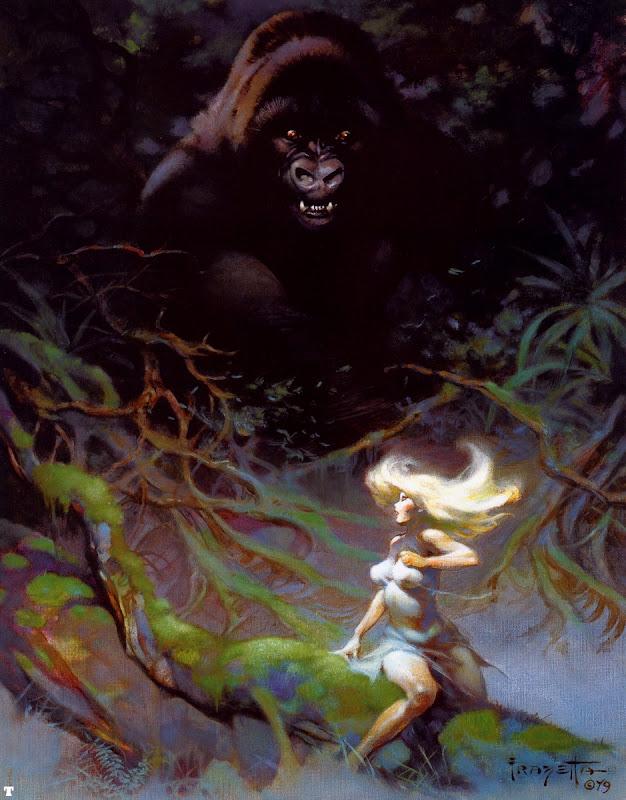 Frank Frazetta - King Kong