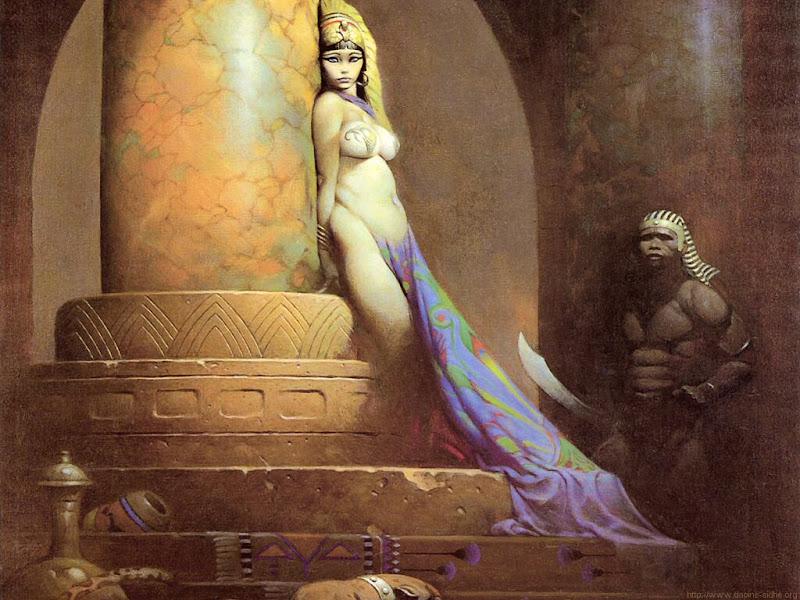 Frank Frazetta - Egyptian Queen
