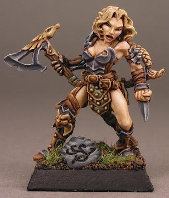 Arnise, Half-Elf Warrior