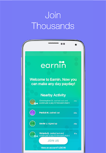 Earnin—Get paid today.- screenshot thumbnail