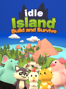 Idle Island: Build and Survive Mod Apk (Unlimited Diamonds) 7