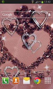 Hearts HD Live Wallpaper v1.1