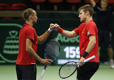 Joris De Loore devrait être prêt pour la finale de Coupe Davis