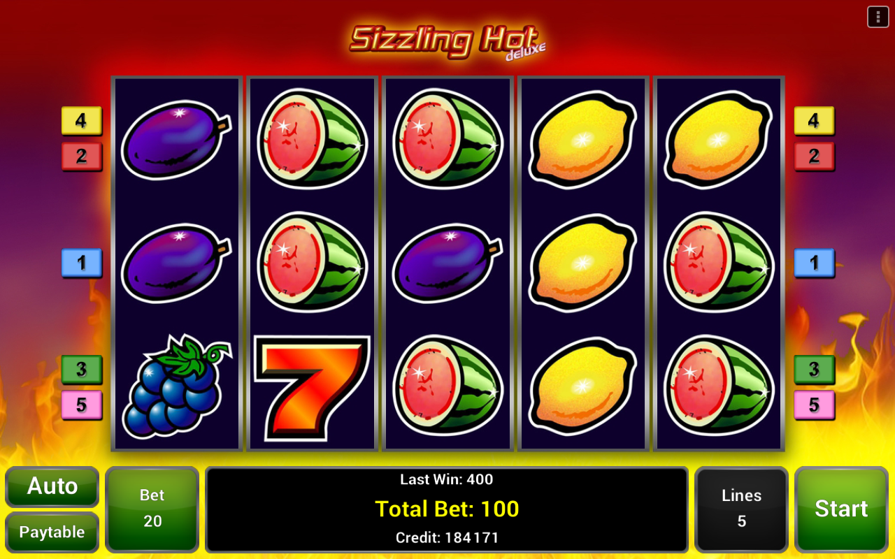 Sizzling Hot™ Deluxe Slot- screenshot