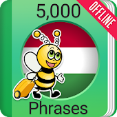 Learn Hungarian Phrasebook - 5000 Phrases