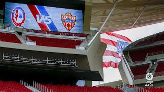 Un escenario ideal que ha dejado huella negativa en el Almería.