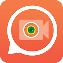 Lucky chat - Random video call icon