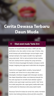 Kumpulan Cerita Dewasa Daun Muda 2018 - náhled
