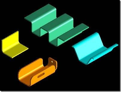 Catia Sheetmetal Design Common Shapes