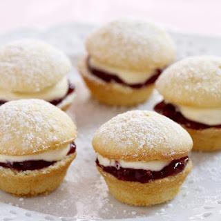 Mini Jam and Cream Cakes