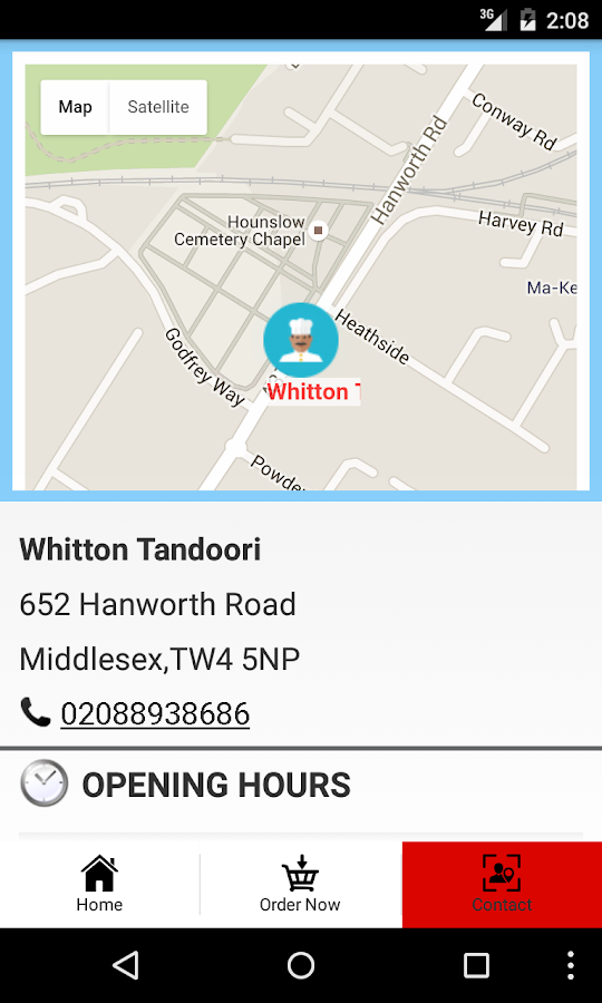 Whitton Tandoori- screenshot