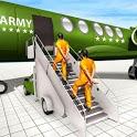 Army Prisoner Transport & Prisoner Army Games icon