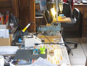 Photo: Le matériel pour bricoler les CI