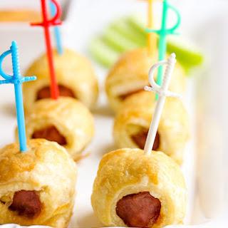 Puff Pastry Sausage Bites.