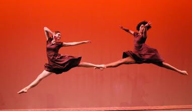 Photo: Movement Inspired by Movement Choreographer: Shelby Ogden Dancers:  Shelby Ogden and Diana Wardell Photo By: Stan Plewe