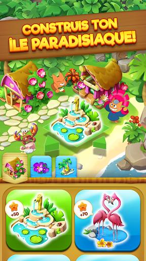 Code Triche Tropicats: Un Jeu de Chat Gratuit Match 3 Puzzle APK MOD screenshots 3